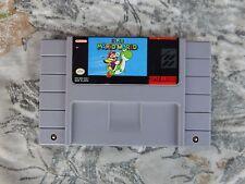 Super Mario World - SNES Super Nintendo Entertainment System - EX Original