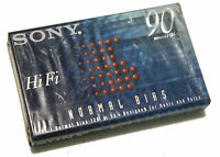 Sony C-90HFB 90 min Type I normal bias New Blank Cassette Audio Tape