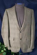 Vintage 60s Windowpane Plaid RANG of SWEDEN Town & Country 3 Piece Suit Sz 36?