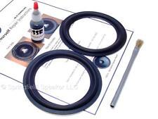 "2 Butyl Rubber 5.25"" Speaker Surround Repair Kit - Woofer - 2BR525"