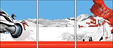 3 Piece Screen Print Set - Alaska 2012 - Martin Ansin - Signed and Numbered