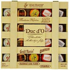 Duc d'O Liqueurs in a Wooden Crate 250g