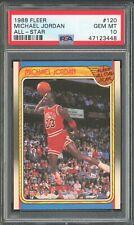 Michael Jordan 1988 FLEER ALL-STAR Psa10 Gem Mint -Pop357-