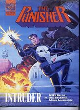 The Punisher Intruder Hard Cover with Dust Jacket Still Sealed Marvel NM
