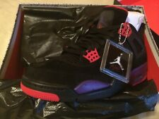 02ca42a9268 Nike Air Jordan 4 IV NRG Retro Raptors Black Court Purple Size 10.5 Drake  Ovo