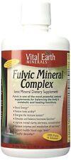 Vital Earth Minerals Fulvic Ionic Mineral Complex - 32 oz HEAL, ENERGIZE, DETOX