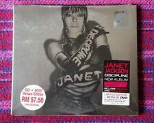 Janet Jackson ~ Disciplines ( Malaysia Press ) Cd