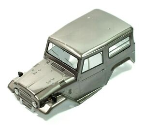 HSP RGT 1/10 ROCK CRAWLER Grey body shell painted applied decals Jeep