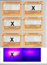 1989 Donruss *Denotes/Inc./No Gap/No Glow 501-660 BC1-26 You Pick Listing 6/18