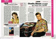 Coupure de Presse Clipping 1997 (1 page 1/3) Charlie Sheen