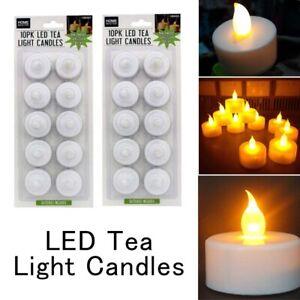 20pcs Battery Operated Flameless Candle Light LED Tea Tealight Sydney Stock