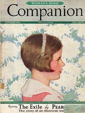 1935 Woman's Home Companion October-Pearl S Buck; Browning love letters Part II