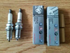 VW Spark Plugs x2 Laser Platinum 101905620