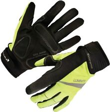 Endura Luminite Long Finger Cycling Gloves hi-viz SIZE L RRP £39 CR086 AA 13