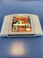 Nintendo N64 Pokemon Stadium Cartridge- Authenticate And Tested And Clean