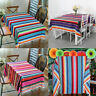Large Blanket Mexican Serape Table Cloth Throw Wedding Party Home Table Decor