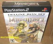 Magna Carta: Tears of Blood Deluxe Box Set (PlayStation 2, 2005) PS2 New Sealed
