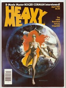 Heavy Metal Magazine Vol. 8 #1 Adult Illustrated Fantasy April 1984 VF/NM