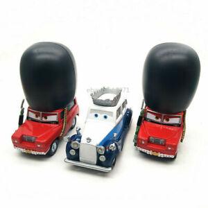 Lot 3 Disney Pixar Cars The queen & Sgt Highgear Diecast Toy Model Car Kids Gift