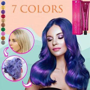Fashion Styling Salon Hair Dye Cream Mermaid Hair Coloring Shampoo Hairdressing