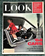 Look Magazine 10/22/63  '64 Cars Preview and Elke Sommer