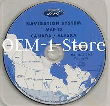 05 06 07 FORD ESCAPE HYBRID XLT SPORT NAVIGATION MAP DISC CD 12 4V CANADA ALASKA