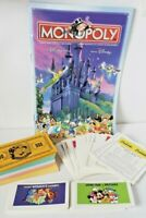 2001 Monopoly Disney Edition Cards, Rules, Money Replacement Parts Pieces
