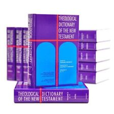 Theological Dictionary of the New Testament 10 Volumes HB DJ Eerdman's 1983