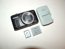 Canon PowerShot SX260HS 12.1MP Digital Camera w/ Charger/Battery/32MB Card