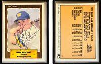 Mark Merchant Signed 1990 CMC #791 Card Williamsport Bills Auto Autograph