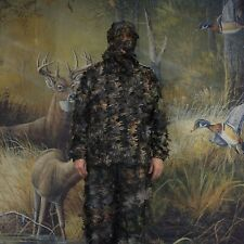 SAS 3D Leafy Ghillie Suit for Hunting Camping Hiking 4 Sizes Available - Camo