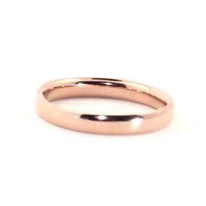 AUSTRALIAN QUALITY HANDMADE SOLID 9K ROSE GOLD WEDDING BAND RING