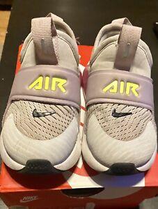 Girls' Big Kids Nike Air Max 270 Extreme Casual Shoes Photon Dust/Lemon Venom 8C