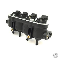 Landirenzo Rail Injektor Leiste 4 Zyl.mit Sensorstutzen MED 25-65 schwarz Landi