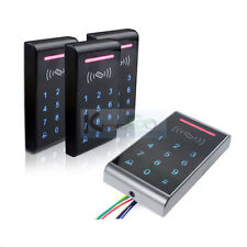 RFID Touch Screen Card Reader 125KHz Keypad Standalone Access Control