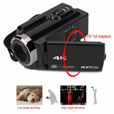 "3"" 4K HD 1080P 48MP DV Videocámara 16X Zoom WiFi IR Digital Cámara Táctil LED EU"