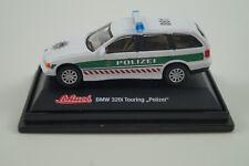 Schuco modello di auto 1:72 BMW 320i TOURING POLIZIA