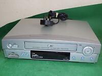 LG LV900 Video Cassette Recorder VHS Smart VCR Silver Long Play Small Slim 6HD