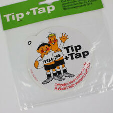 Sticker Tip + TAP Football FIFA Coupe du monde 1974 DFB Homologué Original Produit environ #0