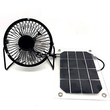 Monocrystallin solar Fan for Home Cooling Ventilation little cooling system