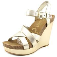 Sandalias y chanclas de mujer Sam Edelman de tacón alto (más que 7,5 cm) de piel