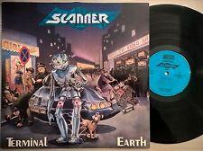 DISCO LP SCANNER / TERMINAL EARTH - 1990 NOISE INT. GER N 0141-1 - EX+/EX+