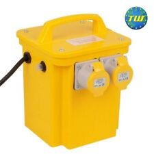 Trasformatore sito 3.3kVa 240 V-Twin 110 V 16 A Power Tool Outlet Prese Spina 13 A