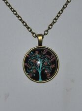 / Gifts for Her Mums Girls Tree of Life Necklace Pendant Vintage Bronze