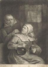 Gravure du XIXe siècle et avant personnage pour Réalisme