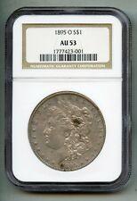 1895 O Morgan Silver Dollar NGC AU 53