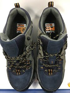 TIMBERLAND PRO 61009 Athletic Work Shoes,Stl,Mn,8W,Blue,PR (no box)