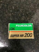 Fujifilm Super HR 200 12 exposures 35 film expired kodak lomo agfa Perutz Ilford