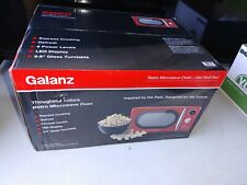0.7 Cu Ft Microwave Oven 700 Watt Power Knob And Button Control Six Power Levels