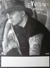 """EVERLAST """"WHITEY FORD"""" U.S. PROMO POSTER- House Of Pain, Hip-Hop, Rock Music"""